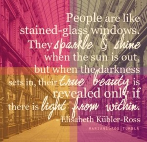 Stained Glass is Like the Spirit