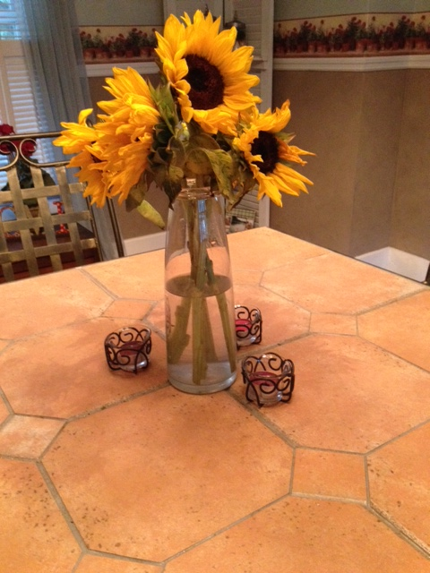 Sunflowers from Mom