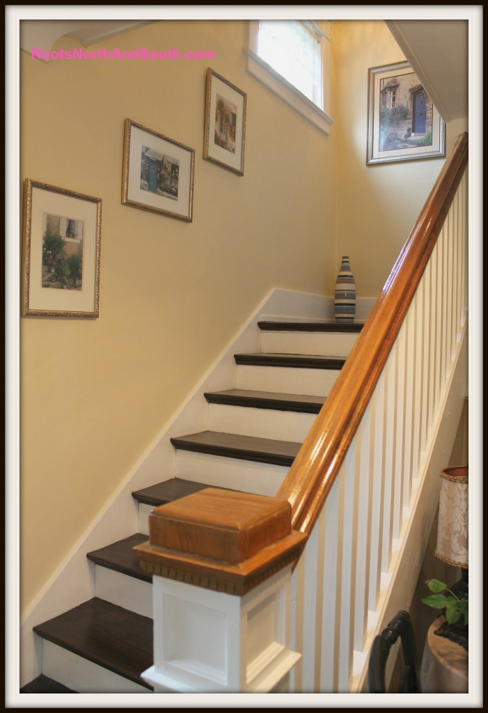 Historic home stairway
