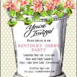 Derby Invite - Mint Julep Cup