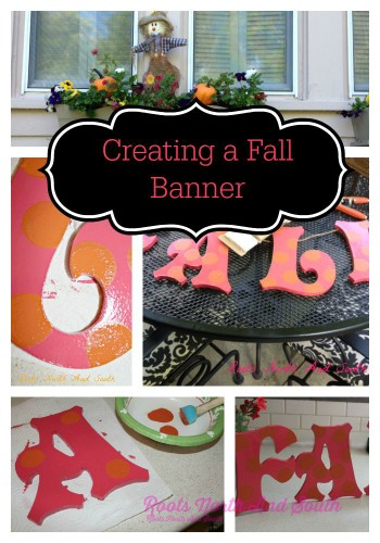 Creating a Fall Banner
