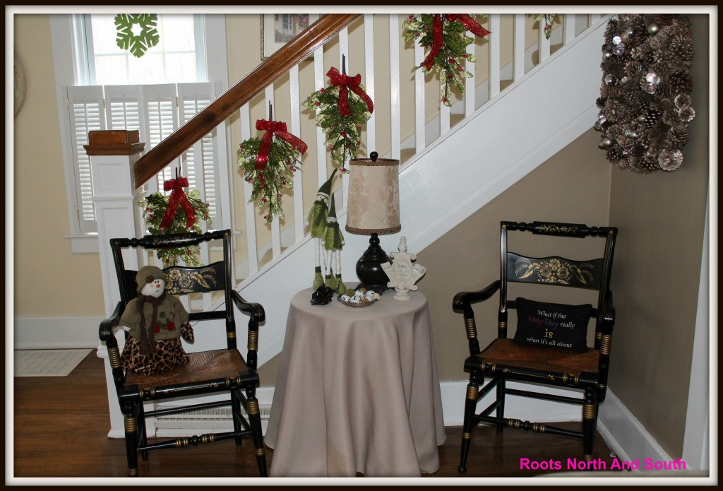 Holiday decorating for a historic home
