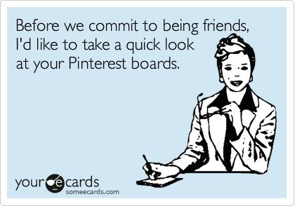 Friday Funny: Pinterest Addiction