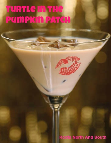 Turtle in the Pumpkin Patch Martini