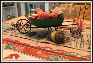 Fall decorating in a historic home