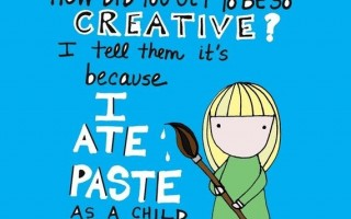 Creative People, Dammit Doll, Eating Paste and Vodka