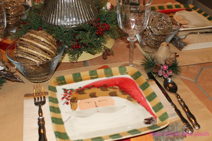 Christmas Luncheon Tablescape