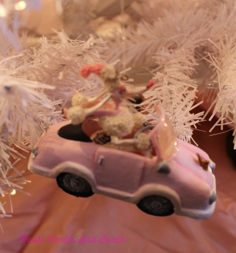 Girly Girl Christmas Tree Ornaments