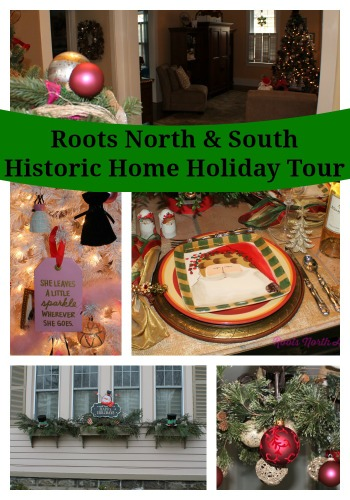 Holiday Tour of a Historic Home