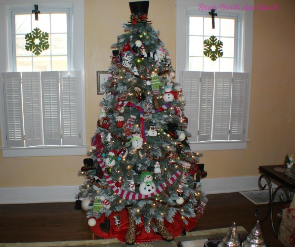 Rooted Christmas Tree: A Festival Of Christmas Trees In This Old House