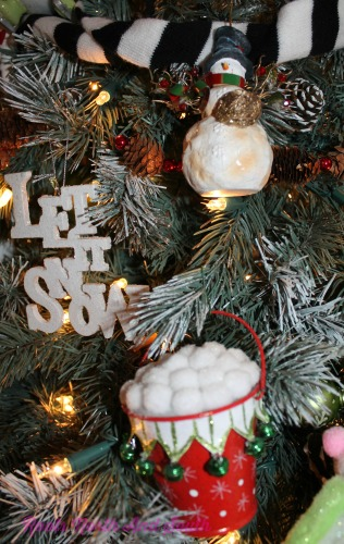 Let it Snow Themed Christmas Tree