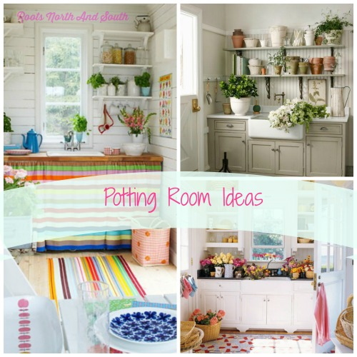 Ideas for Creating a Potting Room
