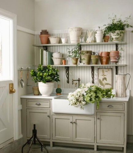 Potting Room Ideas