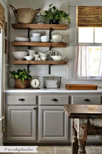 Open Shelving ideas for new house