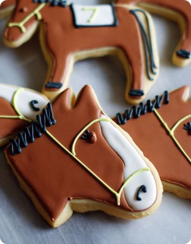 Iced Horse Cookies