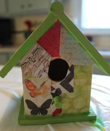 Making Birdhouses for Spring