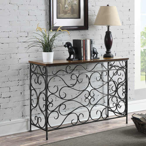 Choosing a console table for the entry