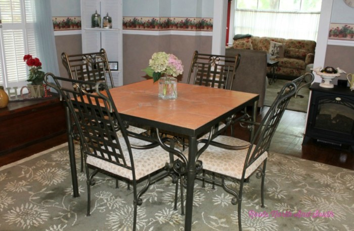 Dining Room on a Historic Home Tour