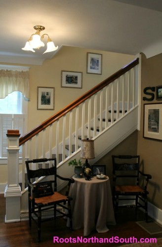 Historic home entry way