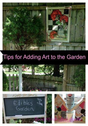 Tips for adding art to your garden