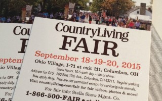 Country Living Fair in Columbus & 2 FREE 3-Day Passes