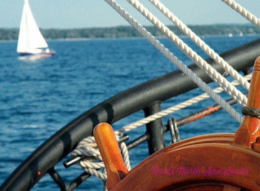 Sailing in Northern Michigan