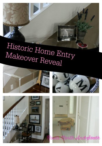 Historic home entry reveal