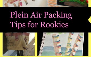 Plein Air Painting: Packing Tips for Rookies