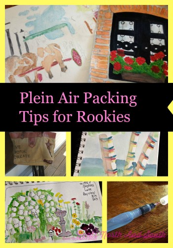 Plein Air Packing Tips