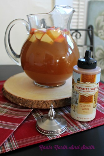 Carmel Apple Sangria