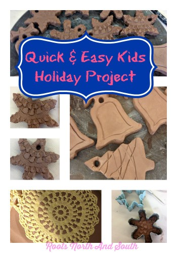 Creating pottery holiday gift tags