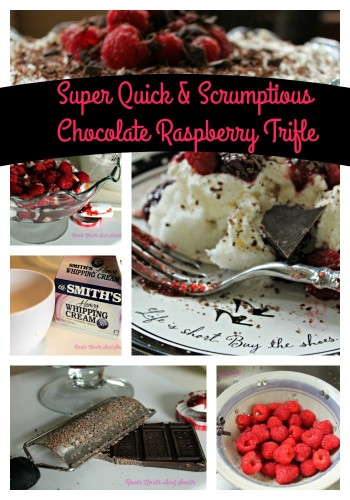 Super Quick and Scrumptious Chocolate Raspberry Trifle