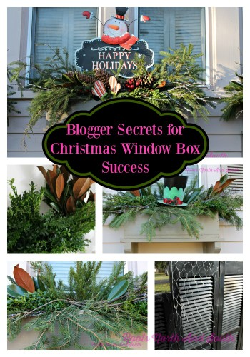 Secrets to Designing Christmas Window Boxes