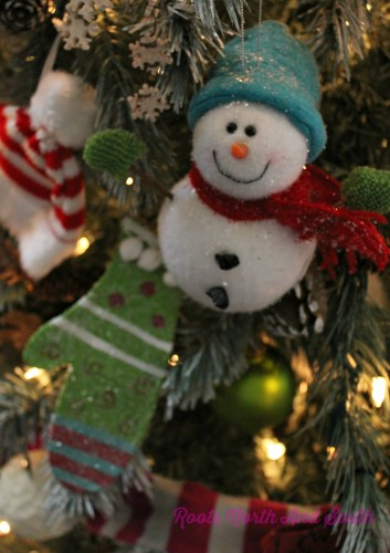 Snowman Tree Ornament