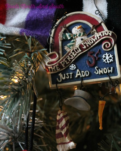 Snowman Christmas Tree Ornaments