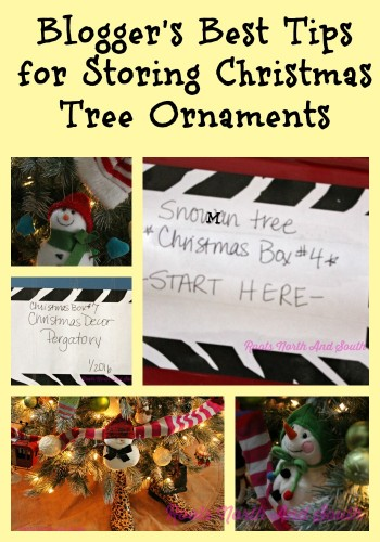 Tips for Storing Christmas Tree Ornmanets