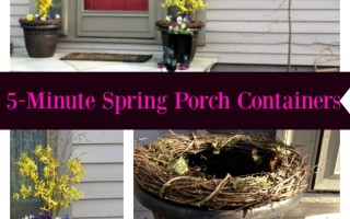 5-Minute Spring Porch