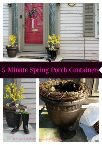 5-Minute Spring Porch Decorating