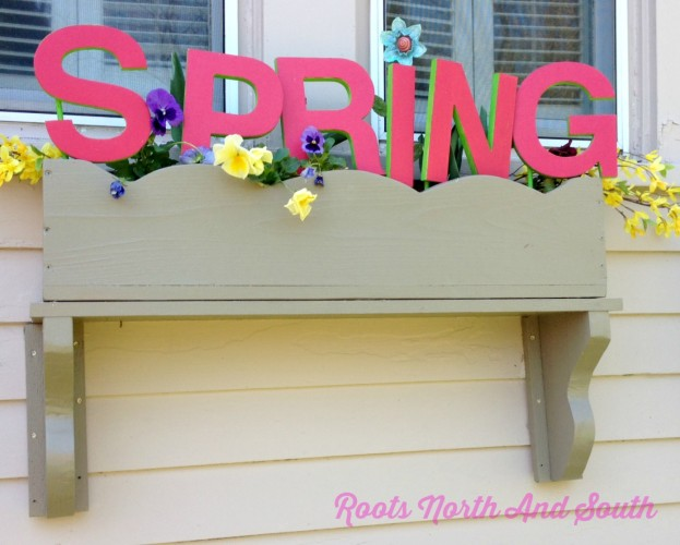 Creating Spring Window boxes