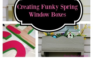 Creating Fun and Funky Spring Window Boxes
