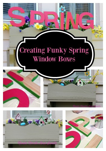 Creating a Spring Window Box