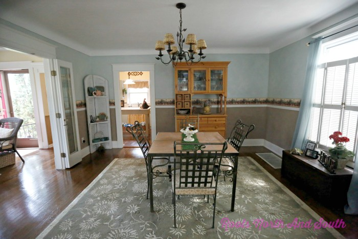 Old house dining room
