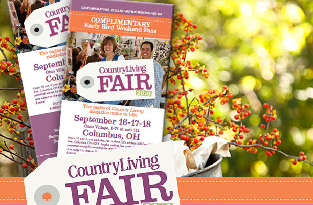 Country Living Fair Returns to Columbus —and We've Got Tickets