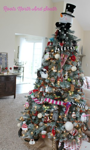 Styling the Christmas Tree