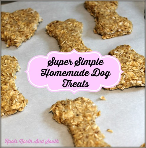 Making treats for pet shelter dogs