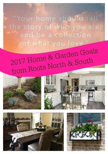 Home and garden goals for the new year
