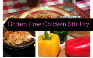 Gluten Free Chicken Stir Fry