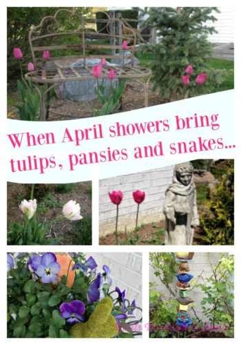 April Showers Garden Collage