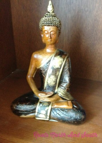 Focus on an object while meditation