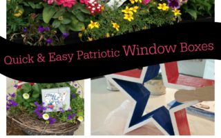 Quick & Easy Patriotic Window Boxes